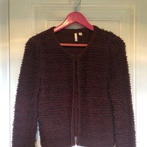 Boucle type sweater